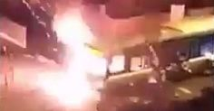 France: Muslims Screaming 'Allahu Akbar' Stop Bus, Set it on Fire – Media Ignores