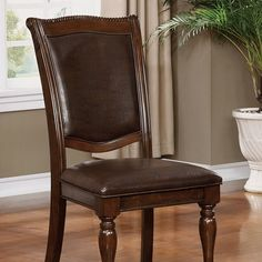 Furniture Of America Alpena Dining chair - CM3350SC-2PK (2Piece) Free Shipping