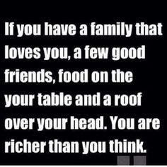 Richer than you think....