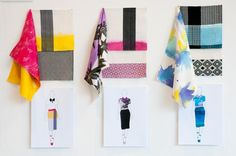 Textile Design work by Alice Coppock