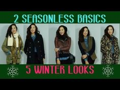 Happy Winter!! In this tutorial I show you how to style up 2 of my all time favorite basics for the winter