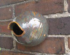 Bird Bottle - Traditional Birdhouse