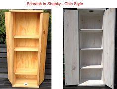 Shabby Chic Schränke selbst gemacht Bauanleitung zum selber...