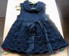 Anlatımlı Kız Bebek Elbise Modelleri - Hobi ve Örgü Örnekleri
