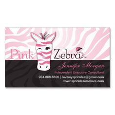 217 best design consultant business cards images on pinterest pink zebra business cards colourmoves