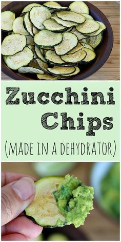 Dehydrated Zucchini Chips, Dehydrated Vegetables, Dehydrated Food, Zuchinni Chips, Dehydrated Bananas, Good Healthy Recipes, Raw Food Recipes, Jerky Recipes, Nutritious Snacks
