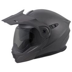 5ff33c084 Matte Anthracite Dual Sport, Bicycle Helmet, Motorcycle Helmets, Motocross  Gear, Scorpion,