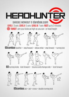 The best way to increase your clues about martial arts workout Fighter Workout, Mma Workout, Kickboxing Workout, Gym Workouts, Studio Workouts, Superhero Workout, Martial Arts Techniques, Darebee, Martial Arts Workout