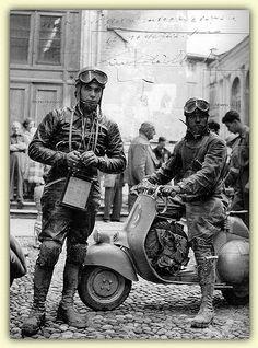 Italian Vintage Photographs ~ #Italy #Italian #vintage #photographs ~ Vespa