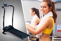 Foldable Electric Treadmill