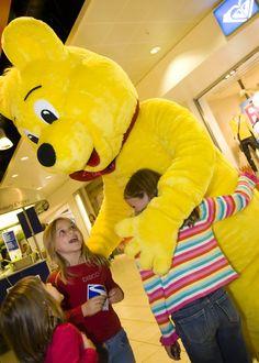 Haribo Bear #mascot #costume #bear