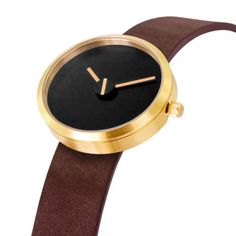 The Denis Guidone Minimalist Watch 'Sometimes' is Modernly Classic trendhunter.com