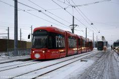 032 Linz Wahringerstr. 04.01.2011 - Bombardier Cityrunner Light Rail, Railroad Tracks, Transportation, Train, Vehicles, Europe, Trains, Pictures, Trendy Tree