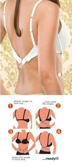 How to Make Low Bra Strap in 5 Minutes – DIY