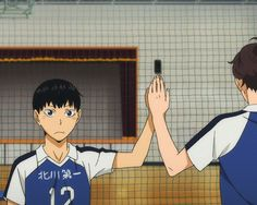 cute little Kageyama What happened to this baby blueberry to turn him into such a sour grape?!