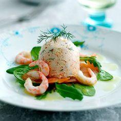 Laksemousse Best Appetizers, Appetizer Recipes, I Love Food, Good Food, Yummy Snacks, Yummy Food, Shellfish Recipes, Danish Food, Big Meals