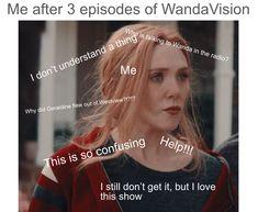 Wanda And Vision, Marvel Memes, Feelings, Movies, Cool Things, Films, Cinema, Movie, Film