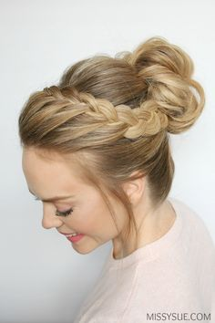 lace-braid-high-bun-tutorial-missysue