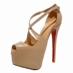 red bottom shoes nude Exagona Crisscross platform pumps Louboutin Shoes, Christian Louboutin, Red Bottom Shoes, Red High Heels, Luxury Bedding Sets, Red Bottoms, Platform Pumps, Summer Shoes, Criss Cross