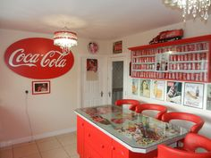 You Won't Believe What This Coca-Cola Loving Woman Did to Her Home! -  #cocacola #coke #collectibles #obsession #soda