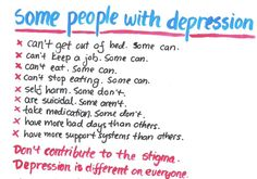 this shows that mental illnesses or problems your having is defined in one way you can experience them in many different ways.