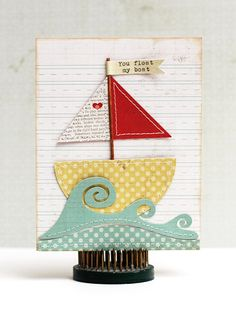 Cute sailboat