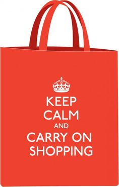 AND CARRY ON SHOPPING