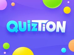 Trivia Game Logo by NestStrix Design for NestStrix Studio on Dribbble Quiz Design, Bg Design, Game Logo Design, Banner Design, Kids Graphic Design, Design Styles, Flyer Design, Interior Design, Logo Infantil