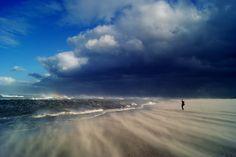Beach of Spiekeroog in Germany