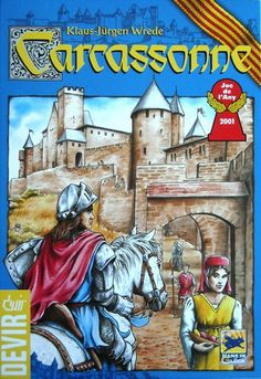 Carcassonne http://boardgamegeek.com/boardgame/822/carcassonne