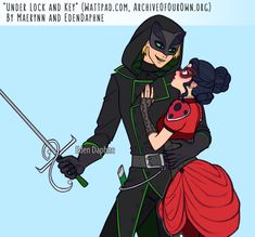 Under Lock and Key - Chapter 7 - EdenDaphne (edelet), Maerynn - Miraculous Ladybug [Archive of Our Own] Ladybug Y Cat Noir, Meraculous Ladybug, Ladybug Anime, Ladybug Comics, Lady Bug, Los Miraculous, Marinette Et Adrien, Catty Noir, Under Lock And Key