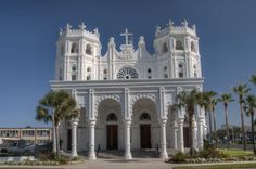 Sacred Heart Catholic church, Galveston, TX