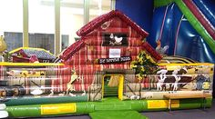 Indoor family fun bounce center.  Ages 1-12.