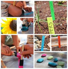 Plant Markers: Simple Free Garden Craft