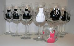 Bridal party gifts, including flower girl and ring bearer Perfect Wedding, Our Wedding, Dream Wedding, Bridal Gifts, Wedding Gifts, Wedding Stuff, Bridal Party Dresses, Party Gifts, Fun Gifts