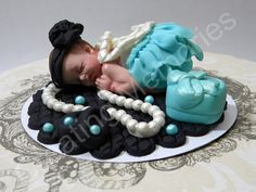 Fondant Baby - Pearls are Girls Best Friends