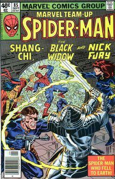 Marvel Team-Up # 85 by Al Milgrom