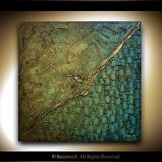 from #modernhouseart.com , found it while researching peacocks.  Love the colors and textures