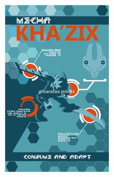 Mecha Kha'Zix: League of Legends Print by pharafax on Etsy