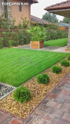 Most Creative Gardening Design Ideas - New ideas Cheap Landscaping Ideas For Front Yard, Driveway Landscaping, Landscape Bricks, Landscape Design, Allotment Gardening, Gardening Blogs, Garden Design Plans, Outside Patio, Modern Backyard