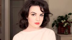 Audrey Horne Hair & Makeup Tutorial