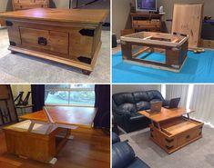 How to Make Coffee Table Upgrade - DIY & Crafts - Handimania
