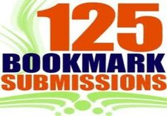 I will submit your site on 125 social bookmarking sites for $5