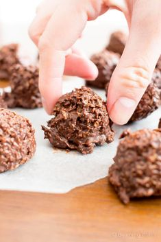 Chocolate Coconut Candy Clusters Chocolate Coconut Candy Recipe