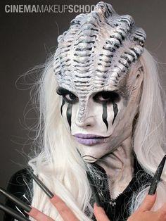 Cinema Makeup School | Creature Design | Special FX Board. Margaux Cabuy |  Sharzad Alizadeh.