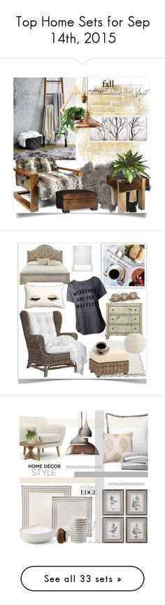"""""""Top Home Sets for Sep 14th, 2015"""" by polyvore ❤ liked on Polyvore featuring interior, interiors, interior design, home, home decor, interior decorating, UGG Australia, Bloomingville, Sentient and PTM Images"""