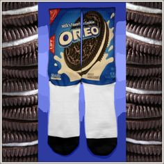 Iconic Socks* Custom Nike Elite Socks are not sold in stores anywhere.These were created exclusively by Iconic Socks in Arizona. The Printing Pro. Silly Socks, Funky Socks, Crazy Socks, My Socks, Cool Socks, Nike Elite Socks, Nike Socks, Iconic Socks, Nike Heels