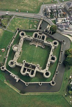 Beaumaris Castle, Beaumaris, Anglesey, Wales, UK