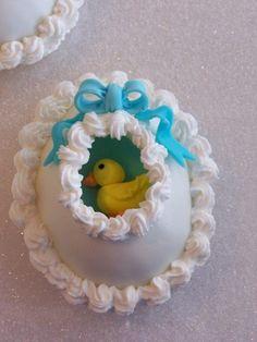 sugar egg.  It has a ducky inside!!!!!!!
