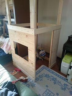 子供部屋に秘密基地を作りました♪|LIMIA (リミア)